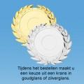 TCGL150W - Massief transparant Glazen Award ROND (±9,5 - 13,5cm) incl. GIFTBOX