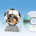 """TC1020FG - Resin Standaard SCHEIDSRECHTER in 2D """"Xplode"""" (13cm hoog)"""