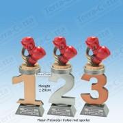 TC110FX-016 Resin standaard nummer met BOKSEN - MET SERIEKORTING! (±20cm)