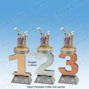 TC110FX-022 Resin standaard nummer met STREETDANCE - MET SERIEKORTING! (±20cm)