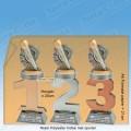 TC110FX-025 Resin standaard nummer met PLAYBACK - MET SERIEKORTING! (±20cm)