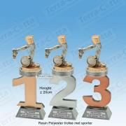 TC110FX-038 Resin standaard nummer met HARDLOPEN - MET SERIEKORTING! (±20cm)
