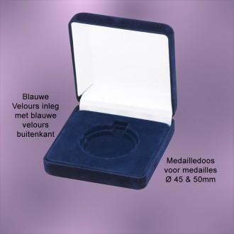 TC120B - Medailledoos alleen voor medailles Ø45-50mm (90x90x35mm)