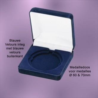 TC121B - Medailledoos alleen voor medailles Ø60-70mm (90x90x35mm)