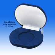 TC140B - Medailledoos voor medaille Ø 70mm (140x120x25mm)