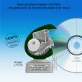 TC255FG - Resin standaard VOETBAL met groen accent (± 10 cm) MET VOLUMEKORTING!