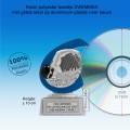 TC258FG - Resin standaard ZWEMMEN met blauw accent (± 10 cm) MET VOLUMEKORTING!