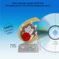 TC260FG  - Resin standaard BOWLEN met gouden accent (± 10 cm) MET VOLUMEKORTING!