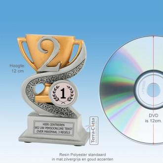 TCR902FG - Resin Standaard NUMMER 2 - MET VOLUMEKORTING! (± 12cm)