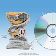 TCR913FG - Resin Standaard TENNIS RACKETS (hoogte ± 12cm) MET VOLUMEKORTING!