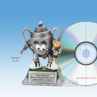 """TCR750FG - Resin beeld TROFEE """"KIDS"""" (± 12cm hoog)"""