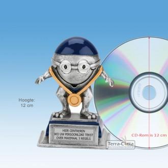 """TCR752FG - Resin beeld ZWEMMER """"KIDS"""" (± 12cm hoog)"""