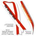 TCS04 Sjerp ROOD-WIT met tekst bedrukking - met of zonder Heuprozet