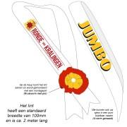 TCS1GR-LOGO - Sjerp WIT met Groot LOGO bedrukking
