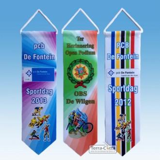 Erelinten EL0520FC 50x200mm Full-colour model met ophanghaakje